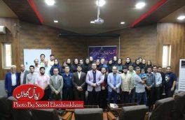 گزارش تصویری تجلیل مدیر کل ورزش و جوانان استان گیلان از خبرنگاران