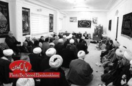 گزارش تصویری/مراسم سوگواری شهادت حضرت فاطمه زهرا(س) در دفتر آیت الله العظمی مکارم شیرازی