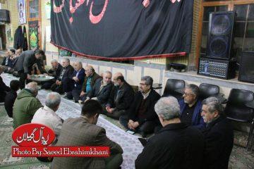 مراسم سوگواری شهادت حضرت فاطمه(س) مسجد شهید حبیب زاده نقره دشت- رشت