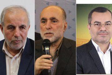 کوچکی نژاد، آقازاده و احمدی از رشت راهی بهارستان شدند