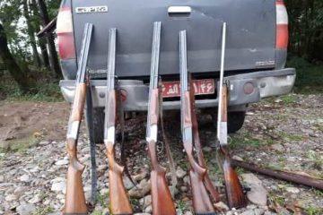 کشف و ضبط  ادوات صید و شکار غیر مجاز در رشت