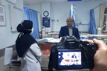بازدید شبانه سرزده رییس دانشگاه علوم پزشکی گیلان از بیمارستان غدیر سیاهکل و مرکز شبانه روزی جامع سلامت دیلمان
