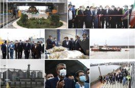 افتتاح و بهره برداری از ۱۱ پروژه زیرساختی در مجتمع بندری انزلی