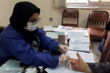 ایستگاه کنترل قند خون در مرکز الزّهرا(س) رشت برپا شد