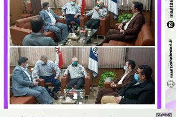 نشست سرپرست منطقه دو شهرداری رشت با رییس اتاق اصناف استان