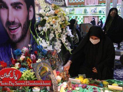 گزارش تصویری سومین ساگرد شهید مدافع حرم  بابک نوری هریس