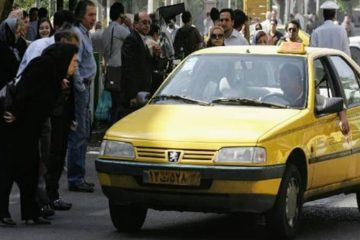 افزایش نرخ کرایه تاکسی در رشت