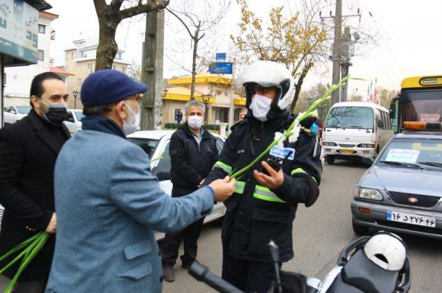 گزارش تصویری/تجلیل از تلاشگران عرصه حمل و نقل به مناسبت فرارسیدن ۲۶ آذر،روز حمل و نقل