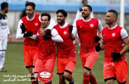 پیروزی سپیدرد رشت مقابل محتشم تبریز