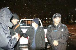 گزارش تصویری حضور میدانی شهردار رشت و مدیران شهرداری همزمان با بارش برف در سطح شهر (۱)