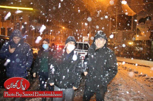 گزارش تصویری/ سید محمد احمدی شهردار رشت،سربلند در تمامی بحران ها