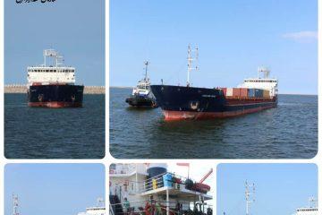 ورود صد و دهمین کشتی از کریدور چین، قزاقستان، ایران به بندر کاسپین