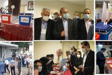 هشتمین دوره ی انتخابات نظام پزشکی استان گیلان برگزار شد
