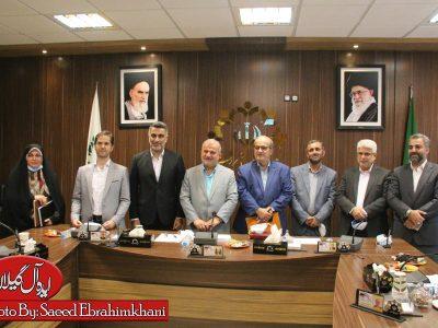 گزارش تصویری/آخرین جلسه رسمی شواری پنجم شهر رشت