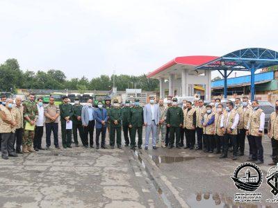 گزارش تصویری/«رزمایش دفاع از مقر و ادارات» پایگاه مقاومت شهید بهشتی سازمان حمل و نقل بارومسافر رشت